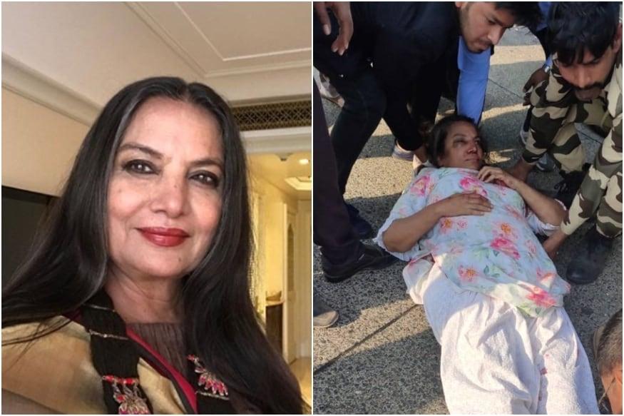 Truck Driver Files FIR Against Shabana Azmis Driver for Rash