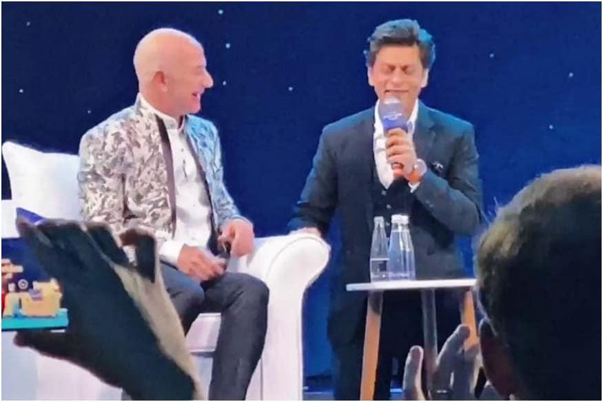 Shah Rukh Khan Says Hes Missing Jeff Bezos 'Uninhibited