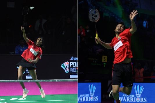 PV Sindhu (L) and Sourabh Verma. (Photo Credit: PBL)