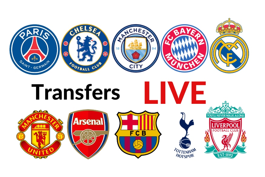 Transfer News and Rumours LIVE: Latest Updates From Liverpool, Chelsea, Man United, Arsenal, Man City, Real Madrid, Barcelona