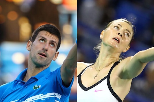 Novak Djokovic and Maria Sharapova (Photo Credit: Reuters)