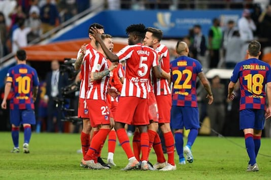 Atletico Madrid beat Barcelona 3-2 (Photo Credit: Reuters)