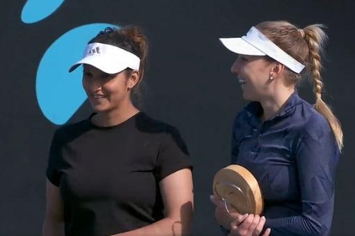 Sania Mirza and Nadiia Kichenok (Photo Credit: WTA)