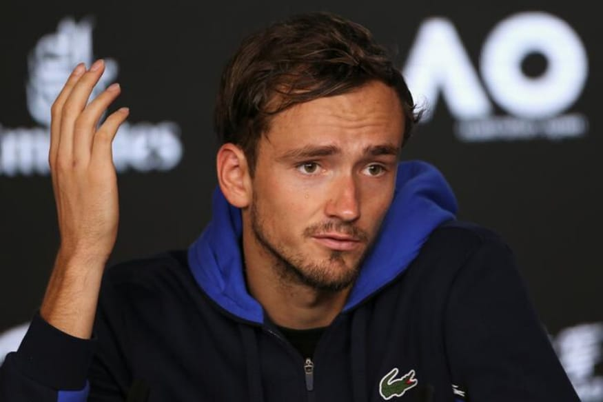 No 'Lucky Shower' as Daniil Medvedev Looks to Clean Up at Australian Open