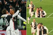 Goals! Cristiano Ronaldo 'Kissing' Paulo Dybala is Breaking the Internet