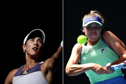 Australian Open Final: Sofia Kenin v Garbine Muguruza (Photo Credit: Reuters)