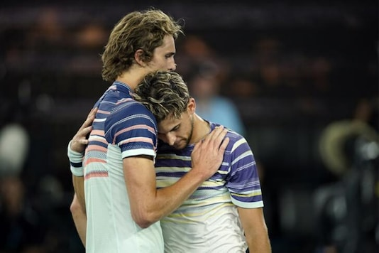 Alexander Zverev and Dominic Thiem (Photo Credit: Reuters)