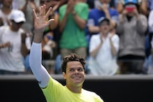 Australian Open: Milos Raonic Beats Marin Cilic in Straight Sets to Book Quarter-finals Spot