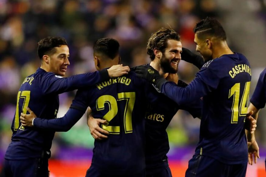 La Liga: Late Nacho Header Helps Real Madrid Beat Real Valladolid and Go Top