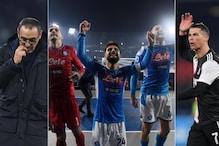 Serie A: Cristiano Ronaldo Scores Again But Napoli Stun Juventus on Maurizio Sarri's Return