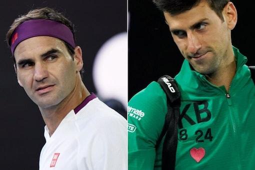 Roger Federer and Novak Djokovic (Photo Credit: Reuters)