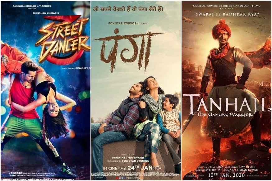 Panga Gets Sandwiched Between Street Dancer 3D and Tanhaji at the Box Office