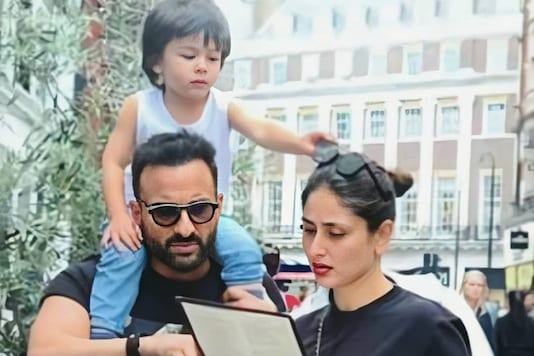 Kareena Kapoor, Saif Ali Khan Trolled for Strolling at Marine Drive with Taimur without Masks
