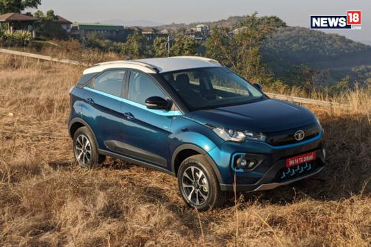 Tata Nexon EV. (Image courtesy: Manav Sinha/News18.com)