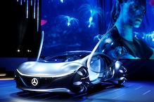 Mercedes-Benz Unveils Avatar-themed Car at CES 2020