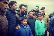 Aamir Khan Arrives in Himachal Pradesh to Film Laal Singh Chaddha