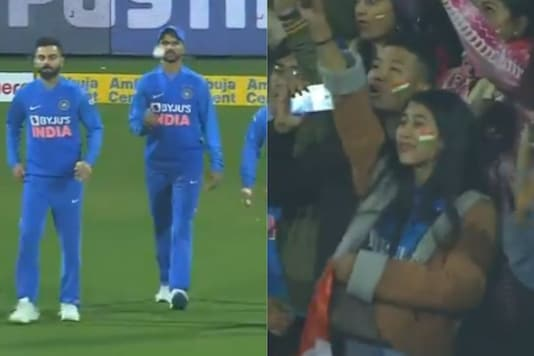 Fans Singing 'Vande Mataram' During Ind-SL T20I Match at Guwahati Will Give You Goosebumps