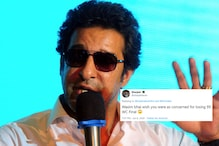 Wasim Akram Loses 'Family Heirloom' Watch on Flight, Trolls Ask Him to Buy a New One
