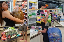 Thai Shoppers Come up With Bizarre Ideas to Deal With Plastic Ban in the Country