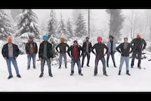 Men Performing Bhangra in Snow-clad Solang Valley is the Energy We Need in 2020