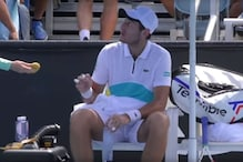 Tennis Player Elliot Benchetrit Asks Ball-Girl to Peel Banana for Him, Gets Scolded by Umpire