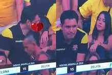 Own Goal? Man Caught on 'Kiss Cam' During Football Match Admits He Was Cheating on His Girlfriend
