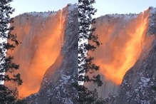 Firefall? Mesmerizing Video of California Waterfall on 'Fire' Lights up the Internet