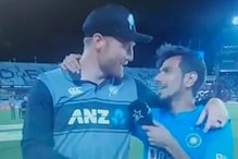 'Kya Be G***u': Martin Guptill Abusing Chahal on Live Television Leaves Rohit Sharma and Fans in Splits