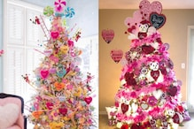 Instagram Bloggers Are Recycling Their Christmas Trees Into Valentine's Day Versions