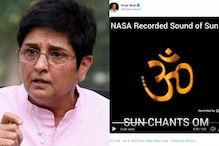Kiran Bedi Gets Trolled After She Posts Fake 'NASA Video' of Sun Chanting 'Om' on Twitter