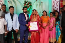 'Together We Say No CAA & No NRC': Couple in Tamil Nadu Receive Wedding Gift With a Message