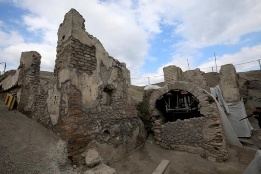 File photo of an excavation site at Pompeii. (Reuters)