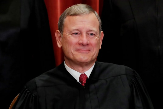 File Photo of Chief Justice of the United States John G Roberts. (Image : Reuters