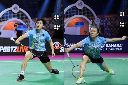 Wong Wing Ki Vincent (L) and Beiwen Zhang. (Photo Credit: PBL)