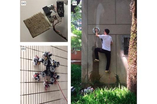 This Wall Climbing Robot Shows Suction Cups The Middle Finger; You Can Dream of Becoming Spiderman