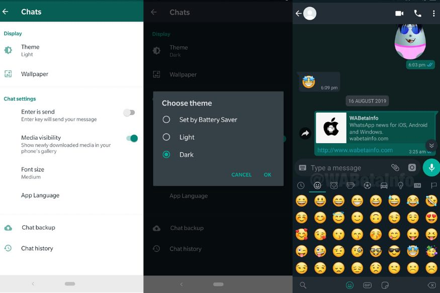 WhatsApp Users, Dark Mode is Finally Rolling Out With Beta For Android: Here is How to Use it