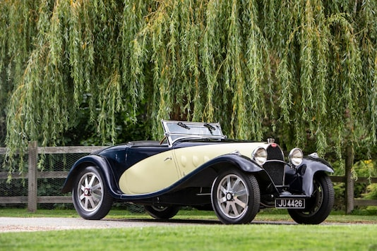 This 1931 Bugatti Type 55 Supersport 2-seater is valued between 4 and 7 million euros.  (Image: AFP Relaxnews)
