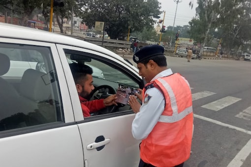 Image for Representation  (Image Source: Twitter/ Chandigarh Traffic Police)
