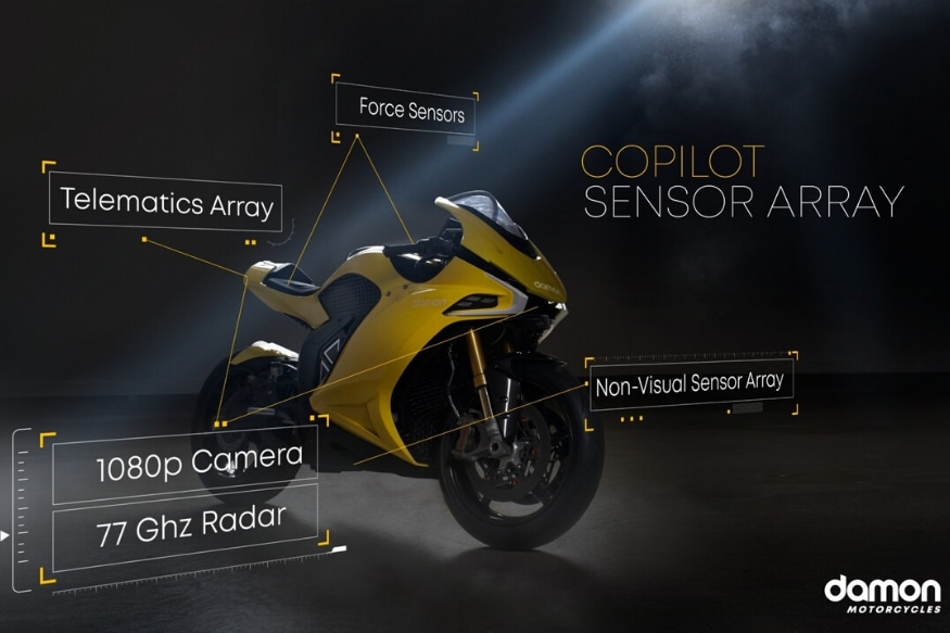 Blackberry and Damon Motorcycles Join Hands to Create Electric Superbike for CES 2020