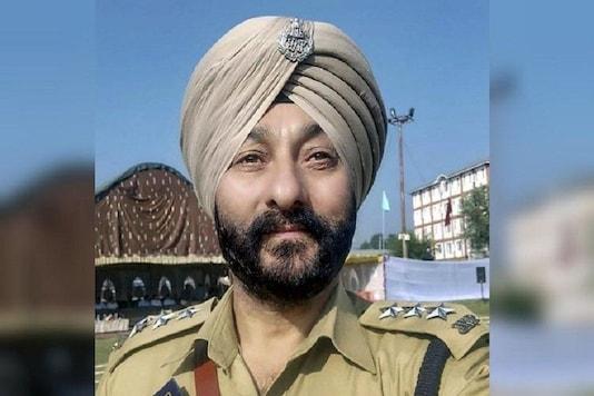 File photo of suspended Kashmir Deputy Superintendent of Police Davinder Singh.