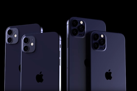 iPhone 12 Pro leaked renders in Navy Blue. (Image: Screen grab/ EverythingApplePro/ YouTube)