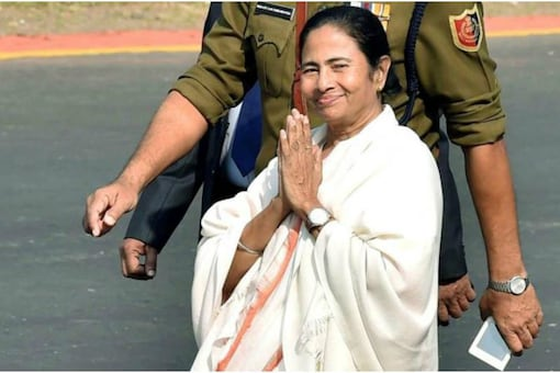File photo of West Bengal Chief Minister and Trinamool Congress supremo Mamata Banerjee. (PTI)