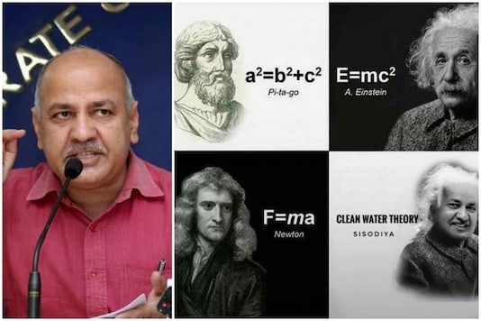 AAP leader Manish Sisodia was brutally trolled for his comments on why Delhi did not have clean water supply | Image credit: PTI/Twitter