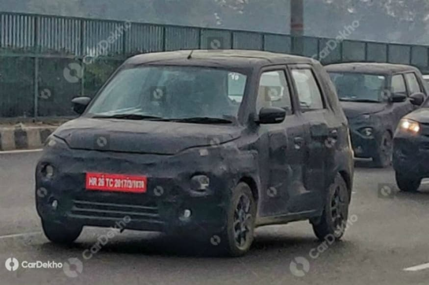 Maruti Suzuki XL5 Hatchback Spotted Testing in Gurugram, Looks Similar to WagonR