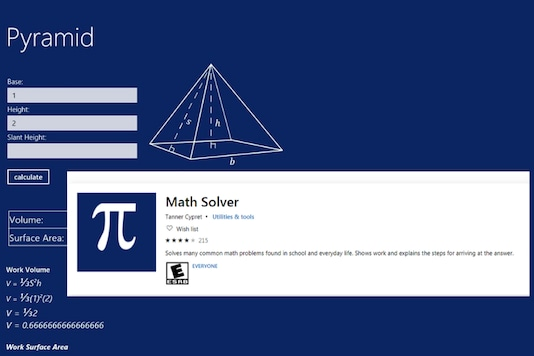 Microsoft Math Solver App  (Image: Microsoft) (Image altered by News18)