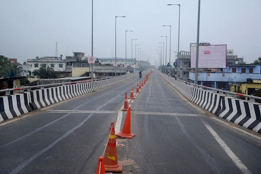 File photo of a deserted road during a nationwide (Image: PTI)
