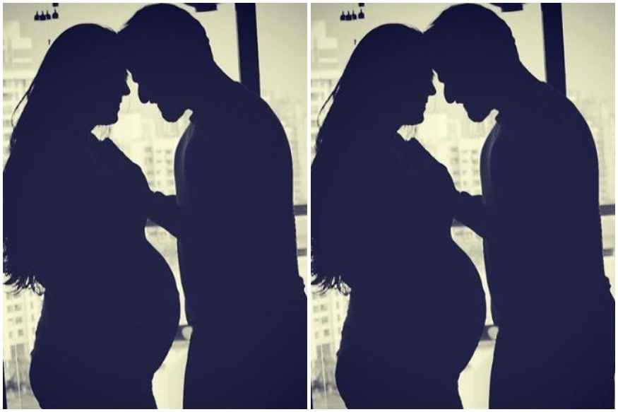 Karan Patel Shares Throwback Silhouette Pic with Ankita Bhargava from Her Pregnancy