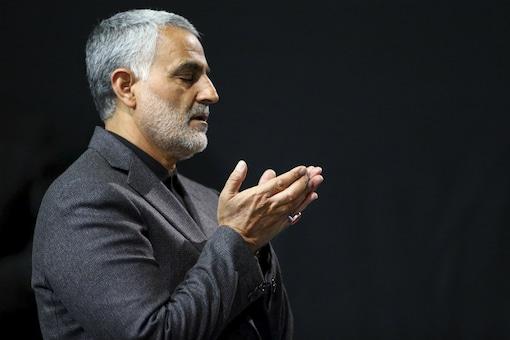 File photo of Qasem Soleimani.