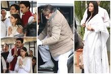 Amitabh Bachchan Flies to Delhi for Ritu Nanda's Funeral, Abhishek Bachchan, Navya Naveli Pay Respects