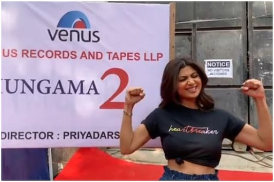 An Excited Shilpa Shetty Begins Shooting for Hungama 2, Shares Video from Sets